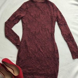 Windsor Long Sleeve Lace Dress